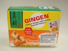 216g Instant Ingwer Getränk mit 15% Honig GINGEN - 1