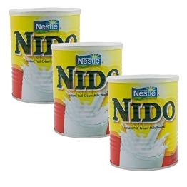 3 x NIDO -Vollmilchpulver -Original Nestle - 3 x 400g (1200g) - 1