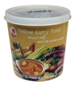 Cock Currypaste, gelb, 1er Pack (1 x 1 kg Packung) - 1