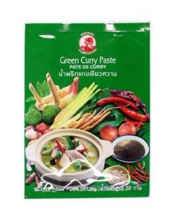 Cock Currypaste, grün, 6er Pack (6 x 50 g Packung) - 1