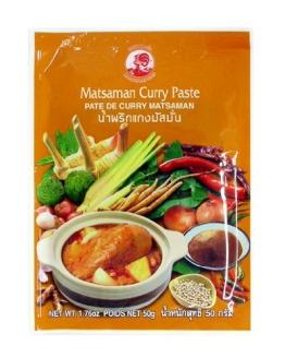 Cock Currypaste, Matsaman, 6er Pack (6 x 50 g Packung) - 1