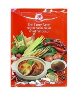 Cock Currypaste, rot, 6er Pack (6 x 50 g Packung) - 1