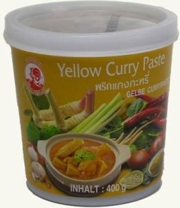 Cock Gelbe Currypaste, 400g - 1