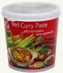 Cock Rote Currypaste, 400g - 1