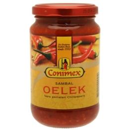 Conimex Sambal Oelek, indonesische Chili Paste, Sauce. Soße, Gewürze, Scharf, 375g - 1