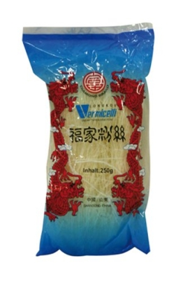Diamond Glasnudeln, lang, Lungkou Vermicelli, 10er Pack (10 x 250g Packung) - 1