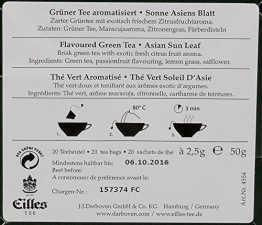 Eilles Tea Diamonds Sonne Asiens - 1