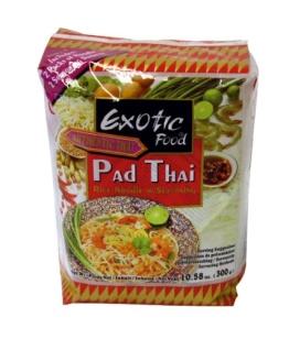 Exotic Food Reisnudeln für Pfannengerichte, (Pad Thai), 2er Pack (2 x 300 g Packung) - 1