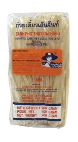Farmer Reisnudeln, 5 mm, 1. Qualität, 17er Pack (17 x 400 g Packung) - 1