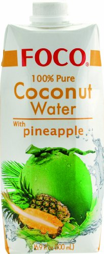 Foco Kokosnusswasser, Ananas, 12er Pack (12 x 500 ml) - 1