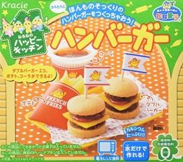 Hamburger Popin' Cookin' Set DIY Süßigkeiten von Kracie - 1