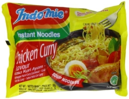 Indomie Instantnudeln, Curry Huhn, 40er Pack (40 x 80 g) - 1