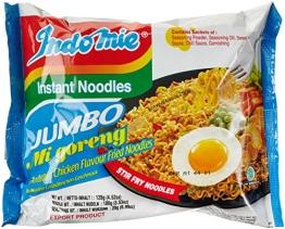 Indomie Instantnudeln, Mi Goreng, BBQ Chicken Jumbo, 24er Pack (24 x 122 g) - 1