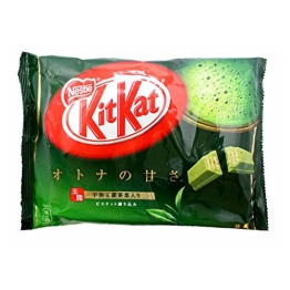 Japanese Kit Kat Matcha Green Tea Flavor | Sweetness for Adults, mini 12 pcs (Japan Import) - 1