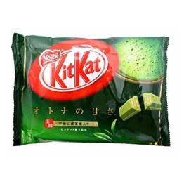 Japanese Kit Kat Matcha Green Tea Flavor | Sweetness for Adults, mini 12 pcs (Japan Import) - 1