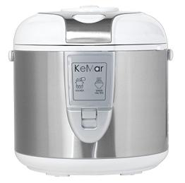 KeMar KRC-118 Reiskocher, Dampfgarer mit Warmhaltefunktion - 1