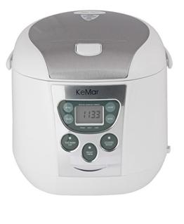KeMar KRC-140 Multifunktionskocher, BPA-frei, Reiskocher, Dampfgarer mit Warmhaltefunktion - 1