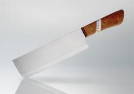 Made in Thailand Messer Küchenmesser Kochmeser m. Holzgriff 280mm ACHTUNG SCHARF - 1