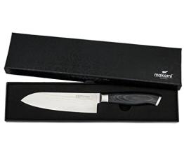 makami Premium Santokumesser aus japanischem Damaststahl VG-10 in Geschenkverpackung - HRC60 - Küchenmesser - 1