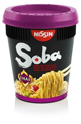 Nissin Soba Cup Thai  8er Pack (8 x 87 g Becher) - 1