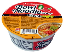 NONG SHIM Instant-Cup-Nudelsuppe, Kim Chi Sabalmyun, 12er Pack  (12 x 86 g) - 1