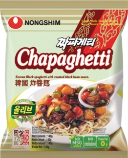 NONG SHIM Instantnudeln; Chapagetti, 20er Pack (20 x 140 g Packung) - 1