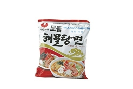 NONG SHIM Instantnudeln, Seafood, (Modumheamul Tangmyun), 20er Pack (20 x 125 g Packung) - 1