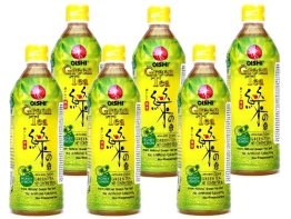 Oishi - Grüner Tee Getränk Honig Zitrone - 6er Pack (6 x 500ml) - Drink aus Thailand - 1