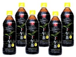 Oishi - Schwarztee mit Grünem Tee Getränk - 6er Pack (6 x 500ml) - Drink aus Thailand - 1