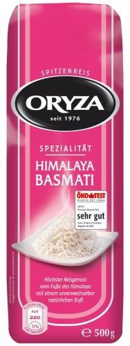 Oryza Himalaya Basmati-Mischung, 7er Pack (7 x 500 g Packung) - 1