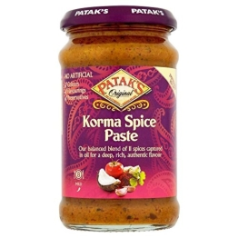 Patak's Korma Mild Curry Paste 290G - 1