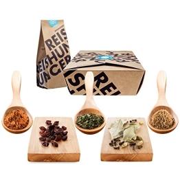 Reishunger Indisch Biryani Box - Original Zutaten bester Qualität - Für bis zu 4 Personen - Ideal als Geschenk - 1