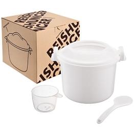 Reishunger Mikrowellen Reiskocher, 1,2l für bis zu 4 Personen - 1
