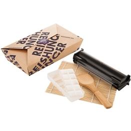 Reishunger Sushi Equipment Box - Mit Easy Sushi Maker 3,5cm - Ideales Zubehör Set für den perfekten Sushi Abend - 1