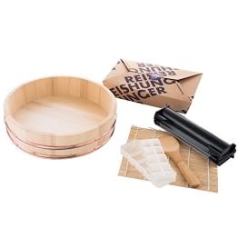 Reishunger Sushi Equipment Box XXL - mit Easy Sushi Maker 3,5cm - Komplettes Zubehörset für den perfekten Sushi Abend - 1