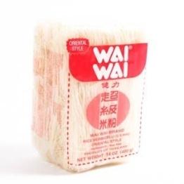 Reisnudeln WAI WAI Rice Vermicelli 400g Reis-nudeln - 1