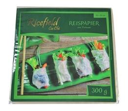 Reispapier 16x16cm für Frühlingsrollen Vietnam Style 300g - 1