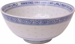 Reisschale / Reisschüssel, porzellan 17,5cm Durchmesser - 1