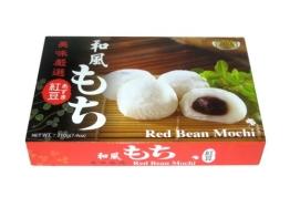 """Royal Family Reiskuchen """"Mochi"""" nach japanischer Art, mit Rote Bohnen Geschmack 210g - 1"""
