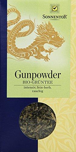 Sonnentor Chines. Grüntee Gunpowder lose, 1er Pack (1 x 100 g) - Bio - 1