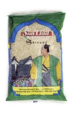 Sun Clad Japanischer Shinode Reis 1 kg, 10er Pack (10 x 1 kg) - 1