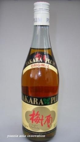Takara Pflaumen Wein 750ml - 1