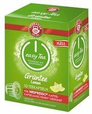 Teekanne Easy Tea Grüntee, 10 Stück Teekapseln für Nespresso-Kaffeemaschinen - 1