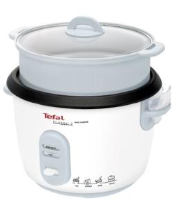 Tefal RK1011 Reiskocher mit Dampfgareinsatz, weiß - 1