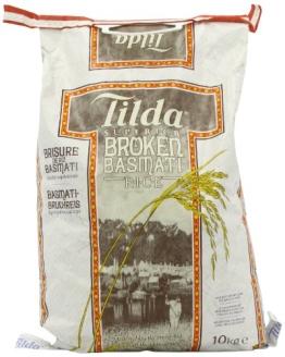Tilda Basmati Bruch-Reis 10 kg [Basmatireis] - 1