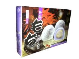 """Yuki&Love 6 Reiskuchen """"Mochi"""" nach japanischer Art, mit Tarogeschmack 210g - 1"""
