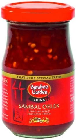 Bamboo Garden Sambal Oelek 200g, 2er Pack (2 x 200 g) - 1