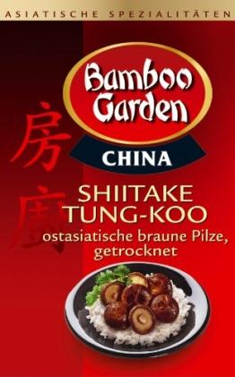 Bamboo Garden Shiitake Tung-Koo, 4er Pack (4 x 25 g) - 1