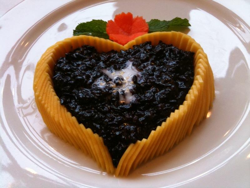 Schwarzer Kleb Reis