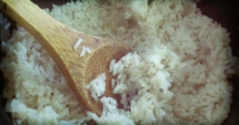 Parboiled Reis und das Verfahren